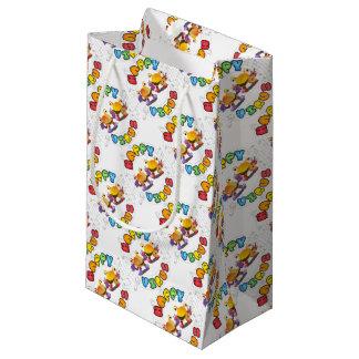 Sacola Para Presentes Pequena Gama de produtos feliz do vírus