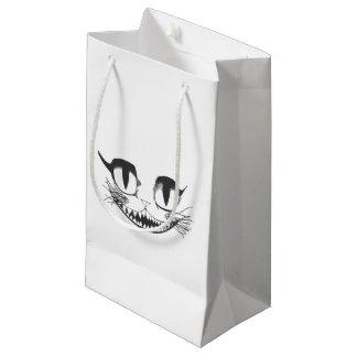 Sacola Para Presentes Pequena Gato de Cheshire