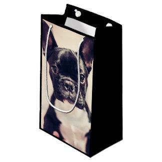 Sacola Para Presentes Pequena Giftbag do buldogue francês