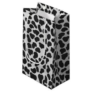 Sacola Para Presentes Pequena Impressão preto e branco Dalmatian