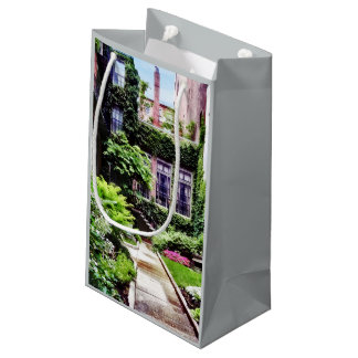 Sacola Para Presentes Pequena MÃES de Boston - jardim escondido