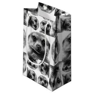 Sacola Para Presentes Pequena Meerkat