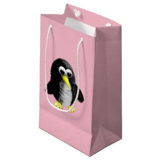 Sacola Para Presentes Pequena Meu amigo o pinguim