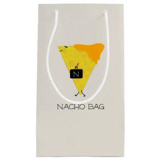 Sacola Para Presentes Pequena Microplaqueta de tortilha do SACO do NACHO com o
