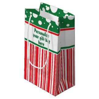 Sacola Para Presentes Pequena Natal maluco