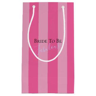 Sacola Para Presentes Pequena Noiva a ser as bolsas fabulosas do presente do