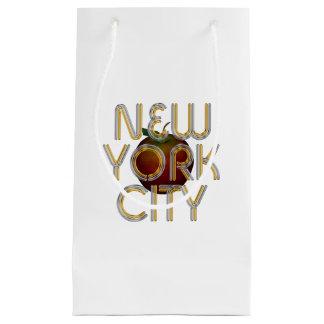 Sacola Para Presentes Pequena Nova Iorque do T