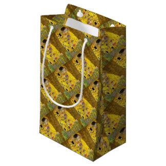 Sacola Para Presentes Pequena O beijo dos amantes após Klimt