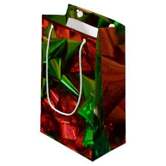 Sacola Para Presentes Pequena O Natal curva o saco