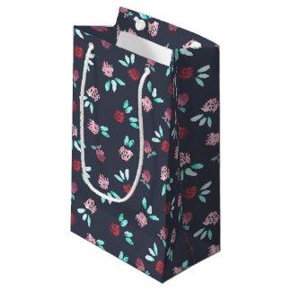 Sacola Para Presentes Pequena O trevo floresce o saco lustroso pequeno do