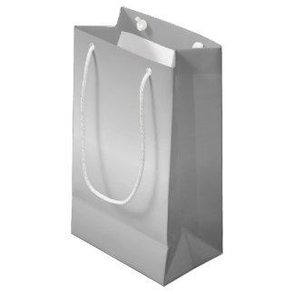 Sacola Para Presentes Pequena Olhar da prata do metal