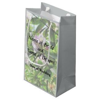 Sacola Para Presentes Pequena Os rododendros estão em produtos do casamento da