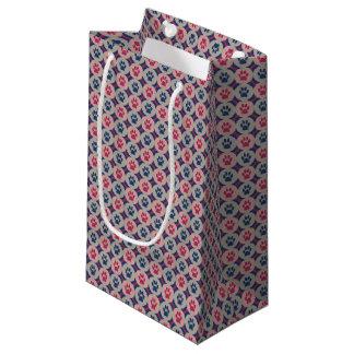 Sacola Para Presentes Pequena Pata-para-Dando o saco do presente (baga/marinho)