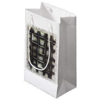 Sacola Para Presentes Pequena Pintura pistola e parafusos, as bolsas do presente