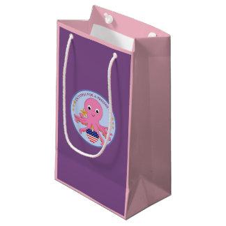 Sacola Para Presentes Pequena Polvo do saco do presente para um Preemie E.U.