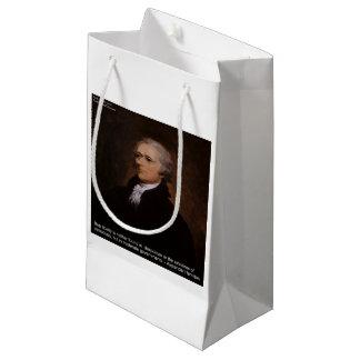 Sacola Para Presentes Pequena Presentes de Alexander Hamilton