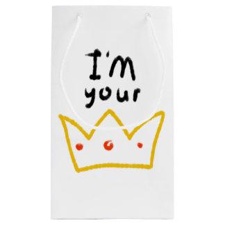 Sacola Para Presentes Pequena Rainha