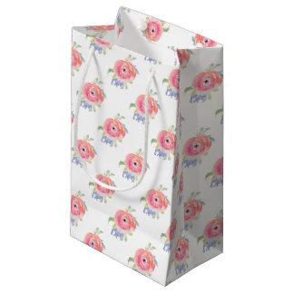Sacola Para Presentes Pequena Rosas