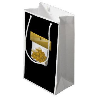 Sacola Para Presentes Pequena RUB do trunfo da comida do pulso aleatório