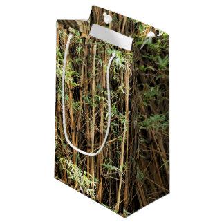 Sacola Para Presentes Pequena Saco de bambu do presente da selva