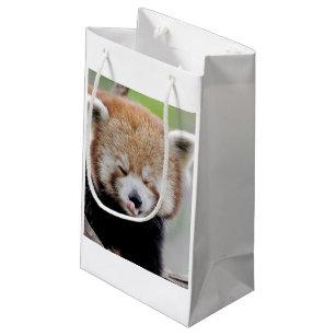 981cd6fb5e70bd Sacolas para Presentes Festa Aniversário Urso Panda | Zazzle.com.br