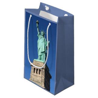 """Sacola Para Presentes Pequena Saco do presente da """"estátua da liberdade"""""""