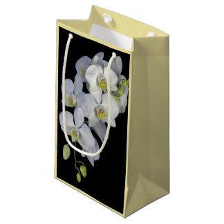 Sacola Para Presentes Pequena Saco do presente da festão da orquídea