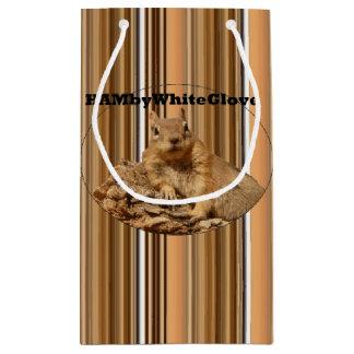 Sacola Para Presentes Pequena Saco do presente de HAMbyWG - esquilo de HAMbWG