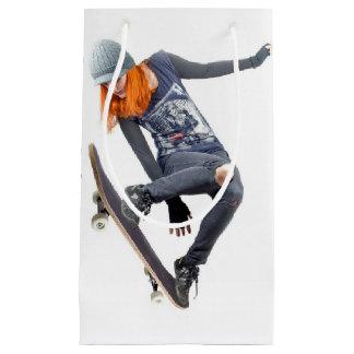 Sacola Para Presentes Pequena Saco do presente de HAMbyWG - skater da menina