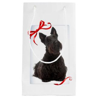 Sacola Para Presentes Pequena Saco do presente de Terrier do Scottish