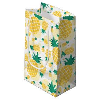 Sacola Para Presentes Pequena Saco do presente do abacaxi - pequeno, lustroso