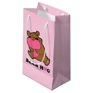 Sacola Para Presentes Pequena Saco do presente do abraço de urso