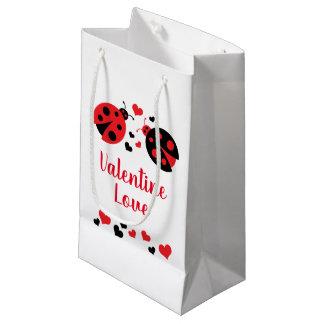 Sacola Para Presentes Pequena Saco do presente do amor dos namorados do joaninha