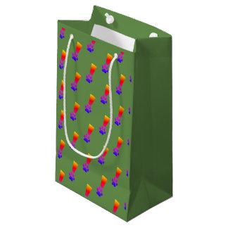 Sacola Para Presentes Pequena Saco do presente do arco-íris