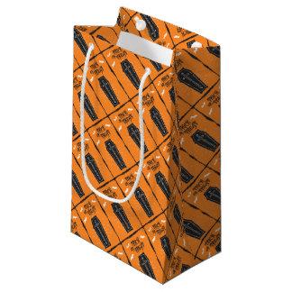 Sacola Para Presentes Pequena Saco do presente do caixão do Dia das Bruxas