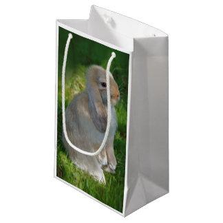 Sacola Para Presentes Pequena Saco do presente do coelho de Minilop do bebê