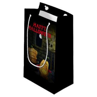 Sacola Para Presentes Pequena Saco do presente do Dia das Bruxas dos monstro da