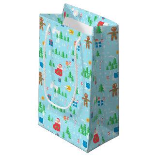 Sacola Para Presentes Pequena Saco do presente do Feliz Natal