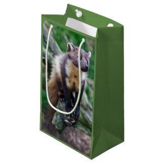 Sacola Para Presentes Pequena Saco do presente do Marten de pinho