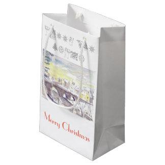 Sacola Para Presentes Pequena Saco do presente do Natal de Rothbury