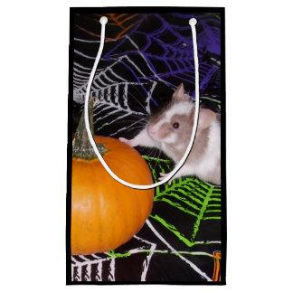 Sacola Para Presentes Pequena Saco do presente do rato do Dia das Bruxas: Rato