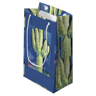 Sacola Para Presentes Pequena Saco do presente do Saguaro dos desenhos animados