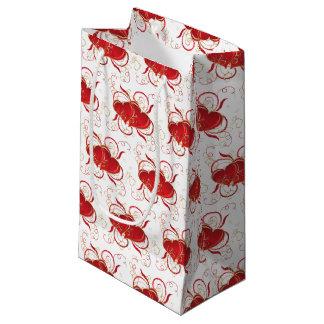 Sacola Para Presentes Pequena Saco do presente dos namorados