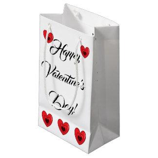 """Sacola Para Presentes Pequena Saco do presente - """"feliz dia dos namorados """""""