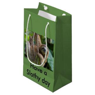 Sacola Para Presentes Pequena Saco do presente para seus amigos das preguiças