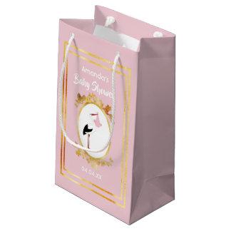 Sacola Para Presentes Pequena Saco feminino do presente do chá de fraldas do