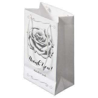 Sacola Para Presentes Pequena Saco pequeno do presente do casamento cor-de-rosa