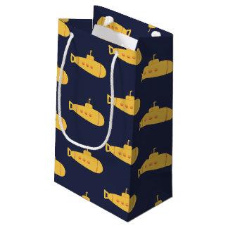 Sacola Para Presentes Pequena Submarino amarelo