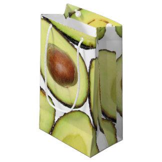 Sacola Para Presentes Pequena Teste padrão do abacate