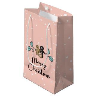 Sacola Para Presentes Pequena Tradições de presentes caseiros da comida do Natal